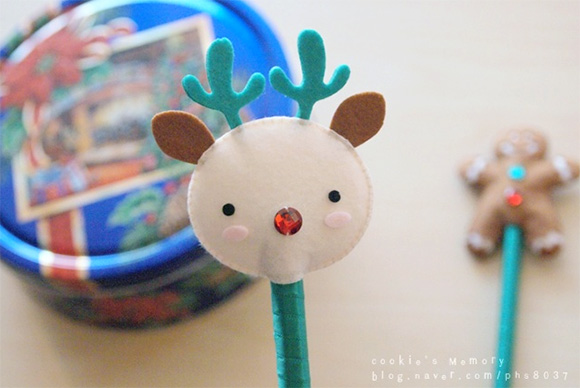 korean-craft-1-xmas-felt-pencil