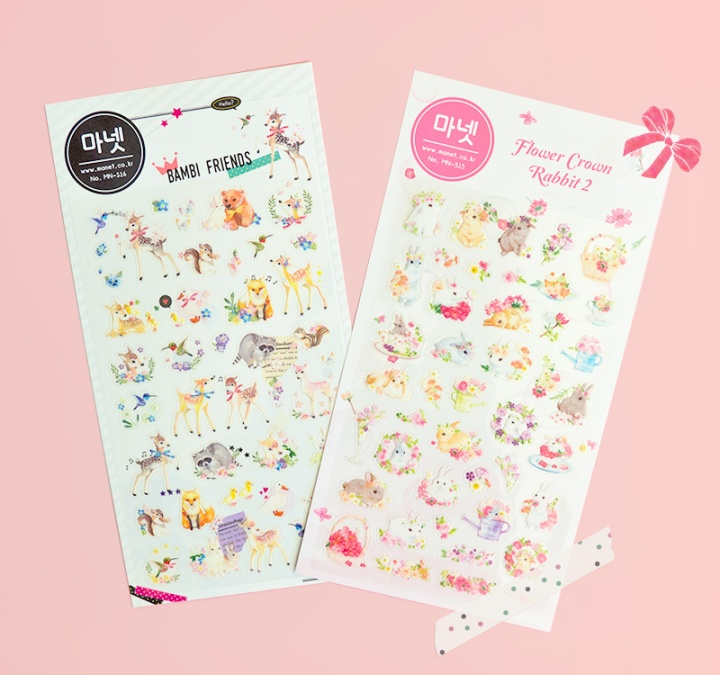 manet korean stickers