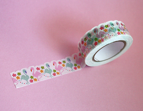 Cute Washi Tape - Flamingo