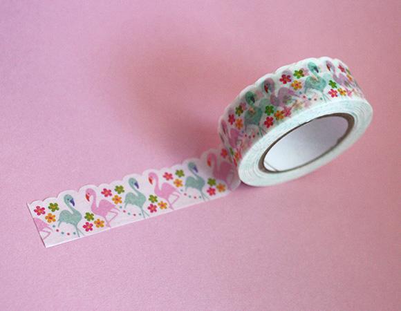 Cute Washi Tape - Flamingo