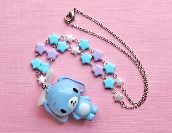 Kawaii Jewelry Shop - Fairy Kei Sugarbunnies Necklace