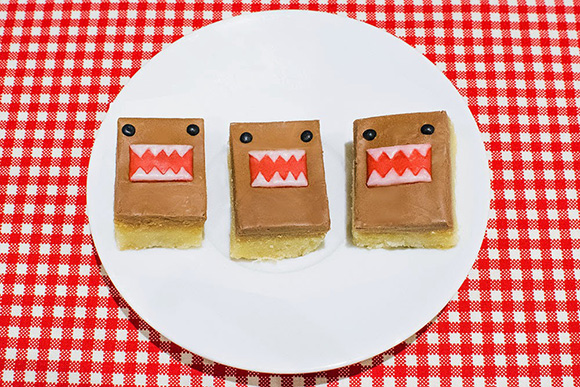 Domo-kun Millionaire's Shortbread from the Sparkle Side Up