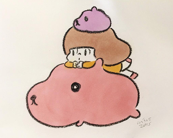 Kapibarasan - Art Fes Wisut Ponnimit