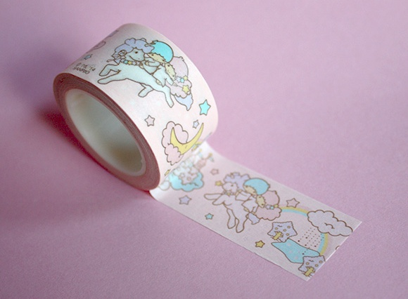 Cute Washi Tape - Sanrio Twin Stars
