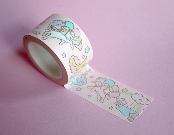 Cute Washi Tape - Sanrio Twin Stars