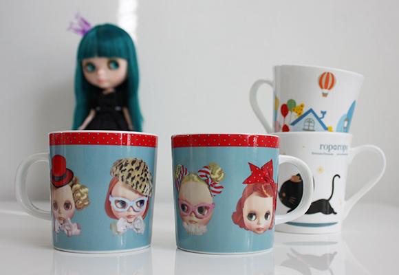Kawaii Cute Kitchen Japan Zakka Blythe Mugs