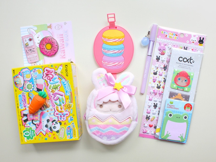 kawaii box japan march 2017 - review and giveaway