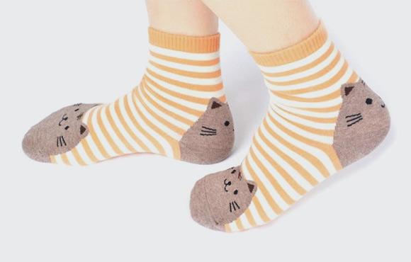 kawaii korean cat socks