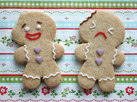 Kawaii Gingerbead Cookies DIY Tutorial