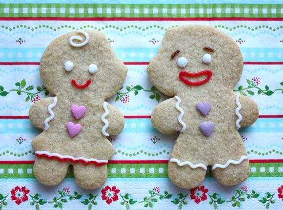 Kawaii Gingerbead Cookie DIY Tutorial