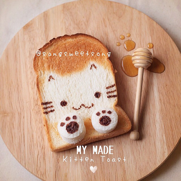 Song Sweet Song - Kawaii Kitten Toast