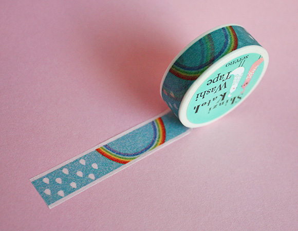 Cute Washi Tape - Rainbow