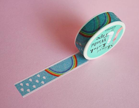 Cute Washi Tape - Rainbow