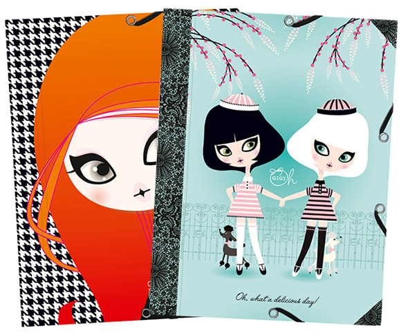 Gigi Oh Clairefontaine - cute stationery France Paris