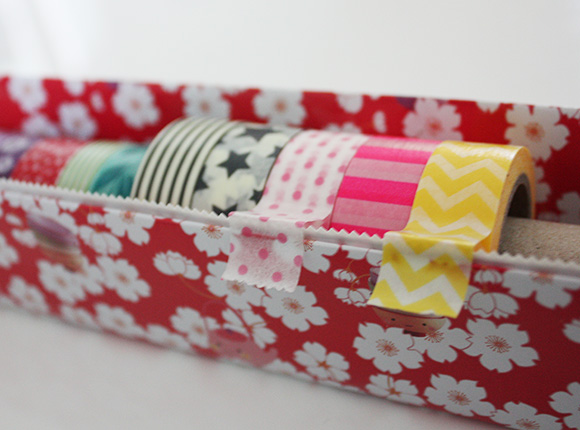 DIY Washi tape Holder Cute