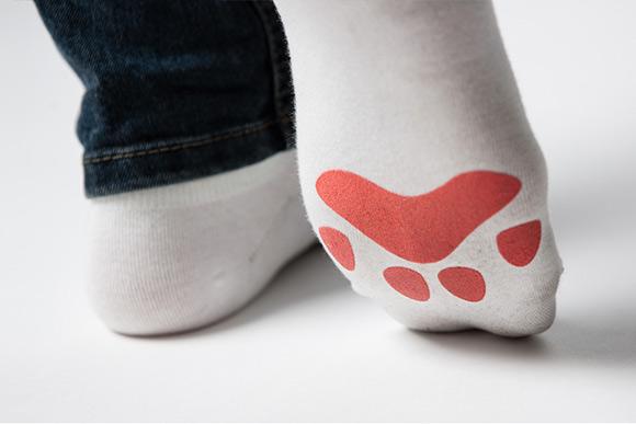 cute cat paws socks