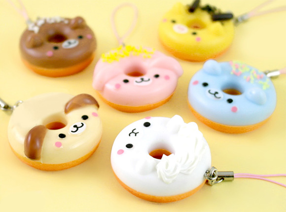 Animal Donuts Charms